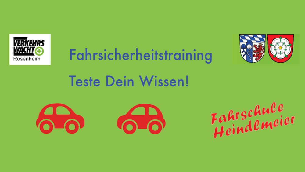 Fahrsicherheitstraining Fahrschule Heindlmeier